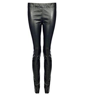 fleur b. Leather Skinny Trousers