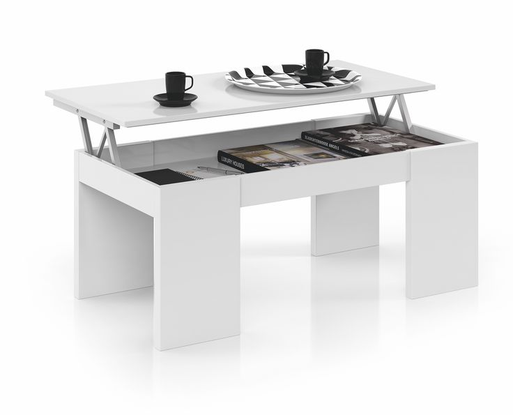 Las 25 mejores ideas sobre mesa centro elevable en for Mesa abatible conforama