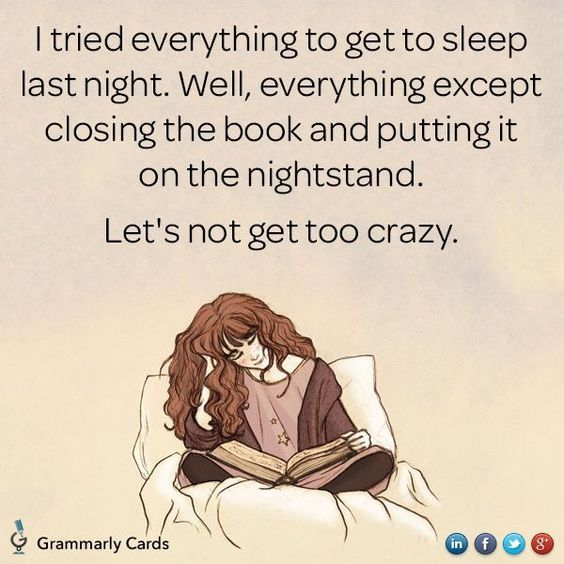 Book lovers: Does this sound familiar?
