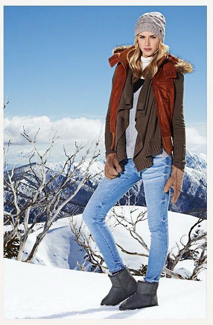 Winter fashion. #ugg #winter #fashion