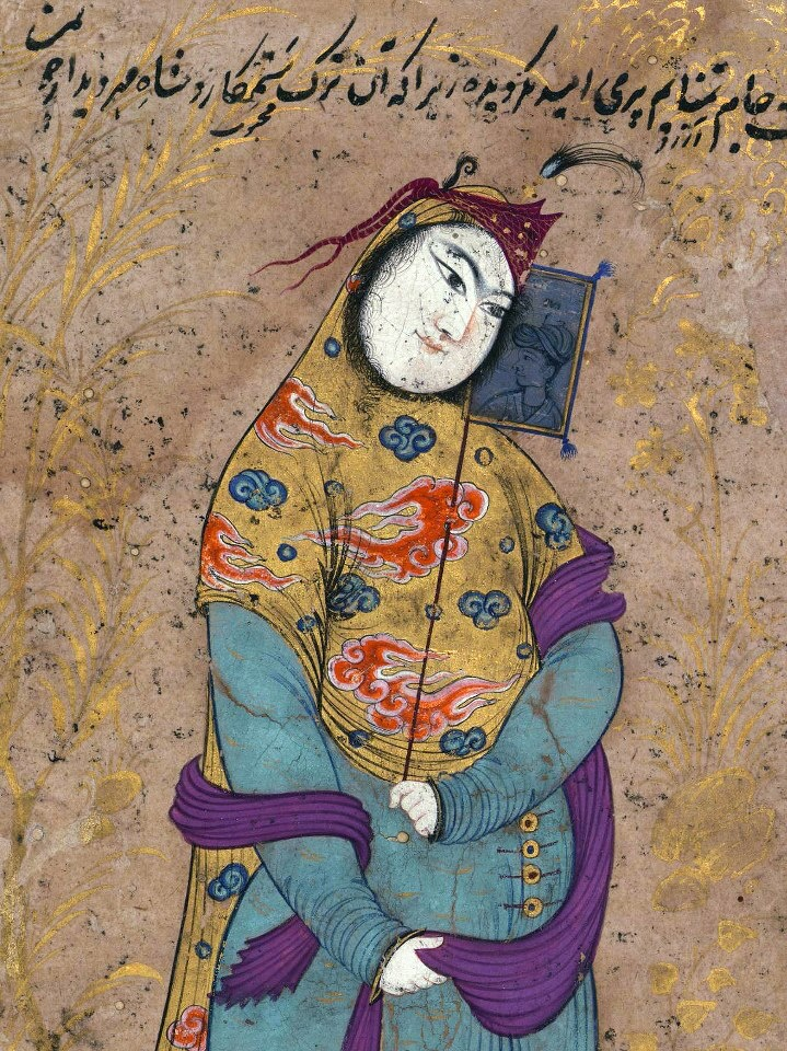 Creator •Attributed to Riza 'Abbasi (Persian, ca. 1565-1635) (Artist) Period 11th century AH/AD 17th century Medium ink and pigments on paper mounted on pasteboard (Manuscripts & Rare Books) Accession Number W.689 Measurements H: 8 1/16 x W: 3 15/16 in. (20.5 x 10 cm) Geographies •Iran (Place of Origin)
