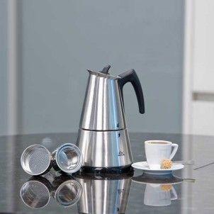 Elektrischer Espressokocher für aromatischen Espresso  Elektrischer Espressokocher, zur einfachen Zubereitung von aromatischen Espresso, Latte Macchiato oder Cappuccino. Ihre Vorteile sind Top Qualität und günstiger Preis.