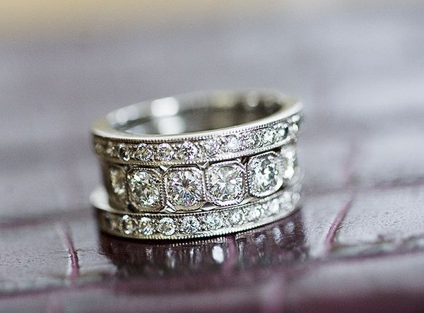 Best 25+ Thick wedding bands ideas on Pinterest | Stackable ...