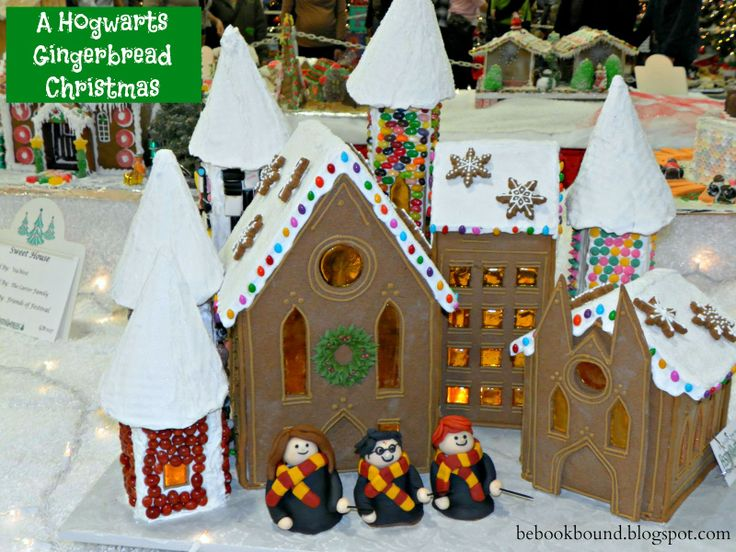 Christmas Carols: O Little Town of Bethlehem Gingerbread Houses | Be Book Bound