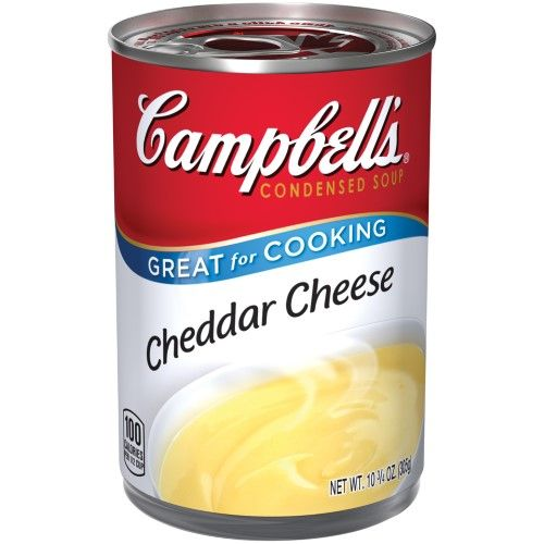Campbell's Condensed Soup, Cheddar Cheese, 10.75 Oz