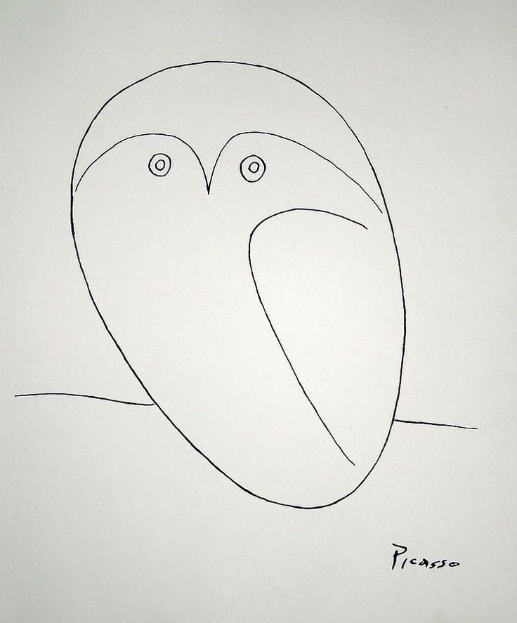 i love Picasso's line drawings