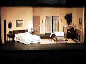 Desert Players Same Time Next Year Production Set Design By Robert Ulsrud Construction