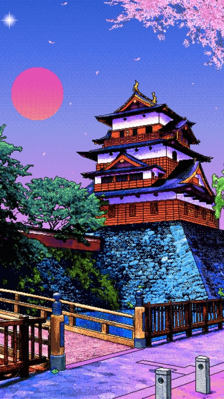 Pixel Art Wallpaper Tumblr Vaporwave Wallpaper Anime Scenery Wallpaper Art Wallpaper Iphone
