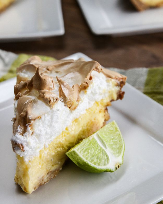 Key Lime Marshmallow Meringue Pie | Key Lime Marshmallow Meringue Pie
