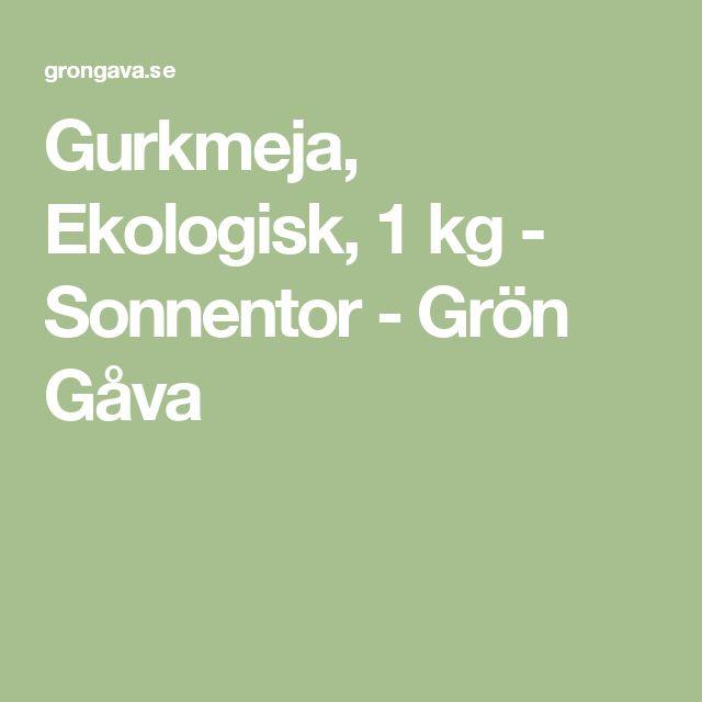 Gurkmeja, Ekologisk, 1 kg - Sonnentor - Grön Gåva