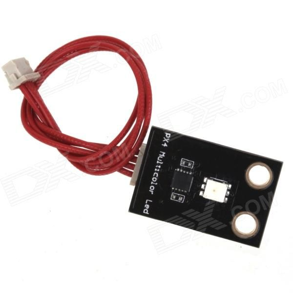 APM2.5.2/APM2.6 IIC BUS seat, model DF13-4P-1.25DSA - Plug and play, high quality terminals - Compatibe with origianl flight controller plate, if not original, may not work. Please be well noted. http://j.mp/VIQm6s