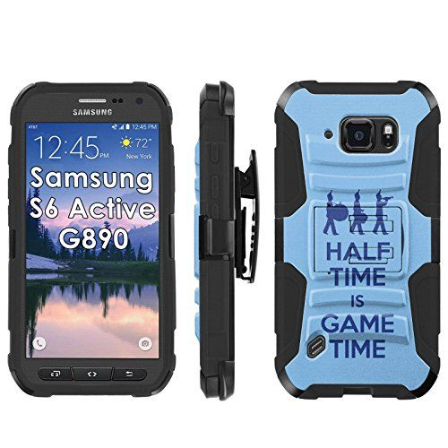 """Buy Samsung Galaxy [S6 Active] G890 Armor Case [Mobiflare] [Black/Black] Armor [Holster] Phone Case Screen Protector - [Marching Band] for Samsung Galaxy [S6 Active] G890 [5.1"""" Screen] NEW for 15.95 USD 