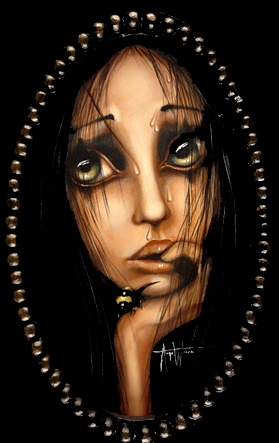 """Oblivious"" Angelina Wrona - need this for my room. To go with all the other ""sentimental dolls"" I've got in my house."