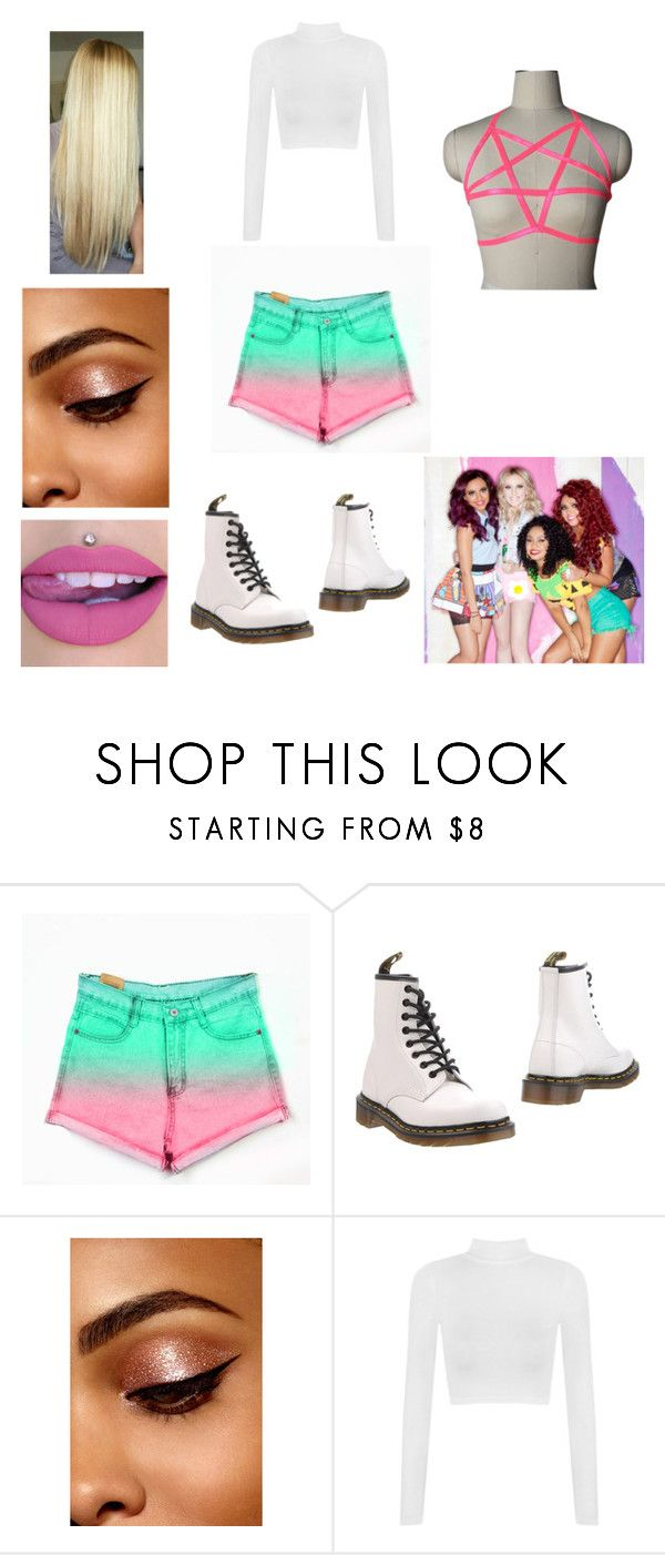 """Little Mix Wings music video"" by andreaosorio16012 on Polyvore featuring moda y Dr. Martens"