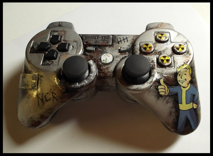 Custom Fallout PS3 controller!