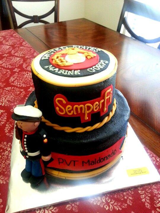 Marine Corps Cake Decorations