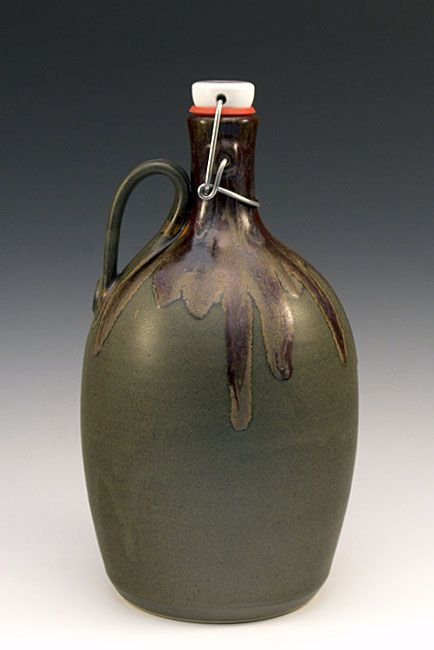 paaschepottery: codaking: ... - the modern pottery studio | http://www.handmadegrowlers.com/