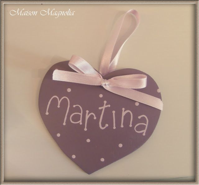 Maison Magnolia Torino Decorazione in legno realizzata a mano #handemade #woodheart #cuoredilegno