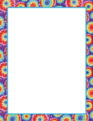 Tie Dye Border paper for sign up sheets | Kaylee's 10th Bday | Pinter ...