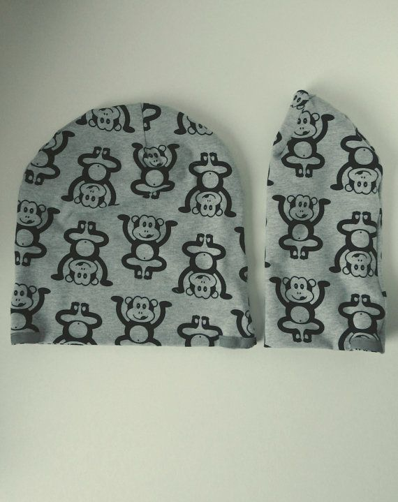 Check out this item in my Etsy shop https://www.etsy.com/listing/482937409/monkey-beanie-for-toddler-cute-beanie