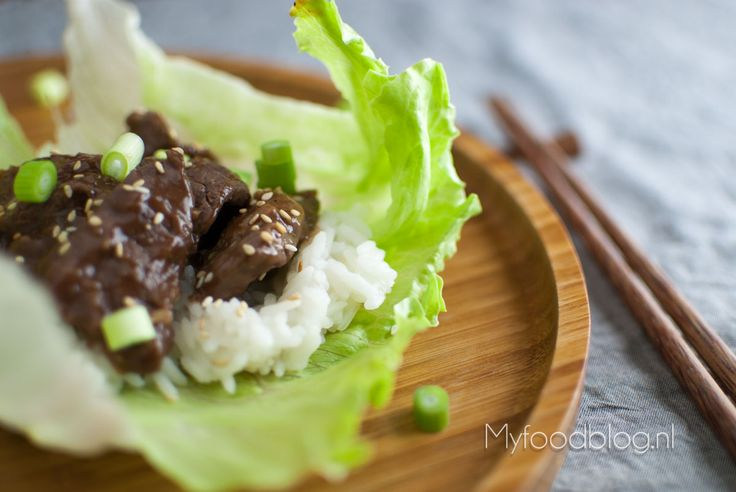 Bulgogi (Koreaans rundvlees)