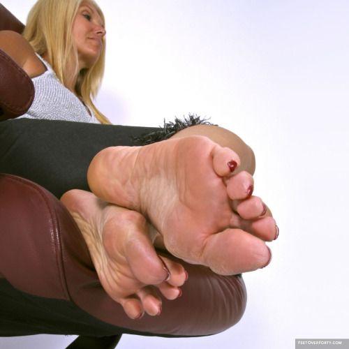 Mature Woman Foot 32
