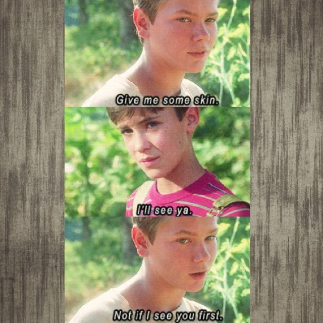 Pin By Krista Ashe On Movies That Are The Bomb Favorite Movie Quotes Stand By Me Movie Quotes