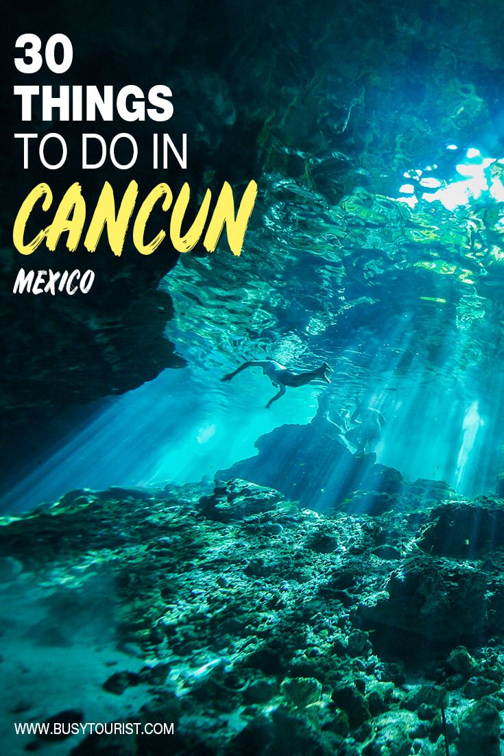 30 Best Fun Things To Do In Cancun Mexico Visit Cancun Cancun Mexico Fun Things To Do