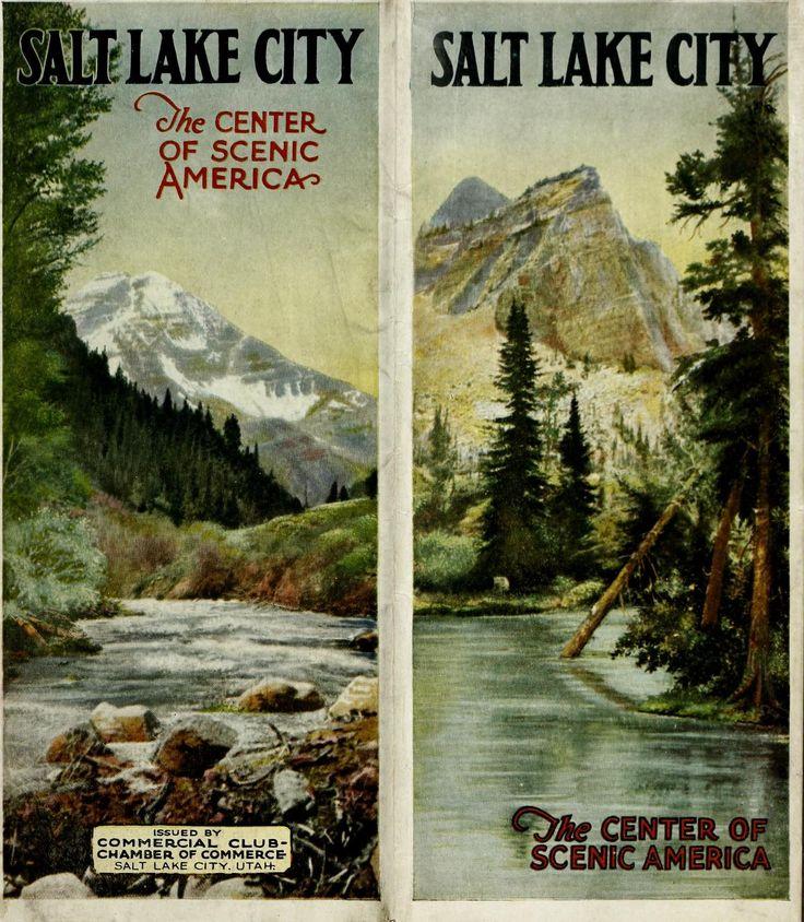 Salt Lake City: the center of scenic America