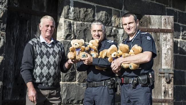 Sunbury Police and Lions club join forces to spread teddy bear joy among needy children