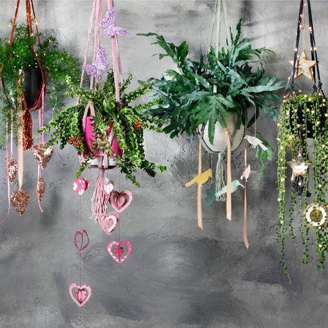 Jaren 70 interieur | Stijlvol Styling woonblog www.stijlvolstyling.com #pintratuin #planten #macrame