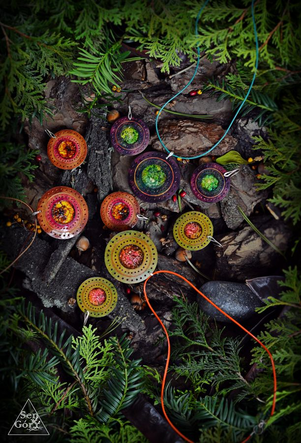 Magical, natural jewelry from the woods: www.sen-gory.com