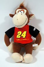 nascar plush toys | ... Gordon stuffed plush monkey nascar merchandise from the toy factory