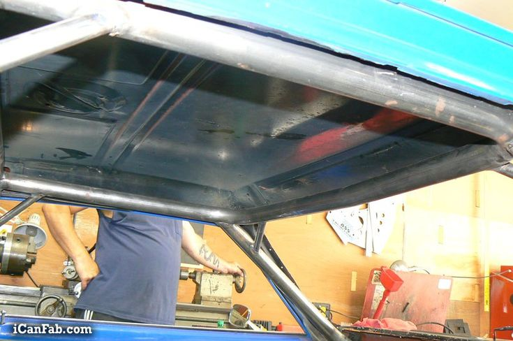 Building an nhra certified 12point roll cage with ews