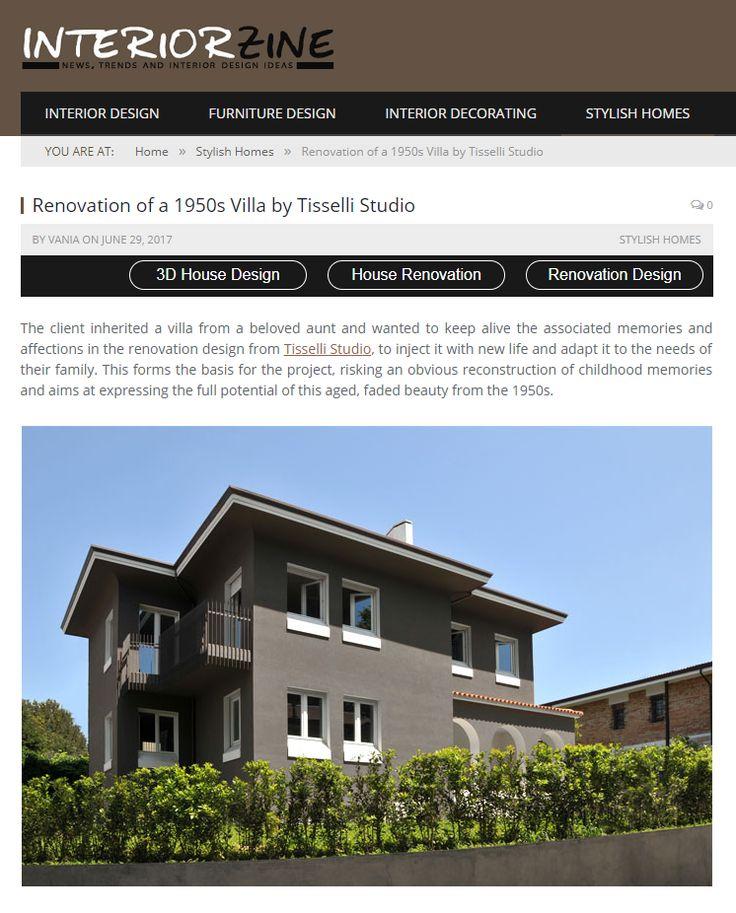 #tissellistudio single family villa in Cesena, published by InteriorZine