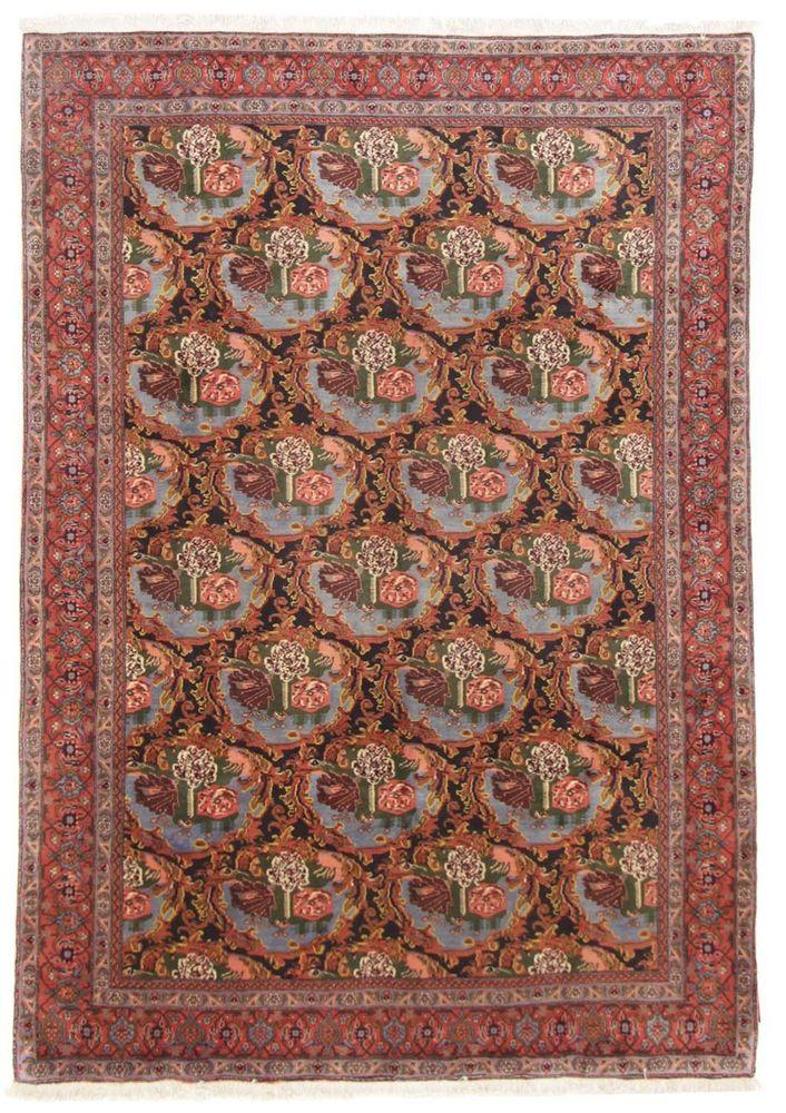Bidjar/ Sene Handgeknüpft  296 x 200  Rugs Perserteppich orient matto
