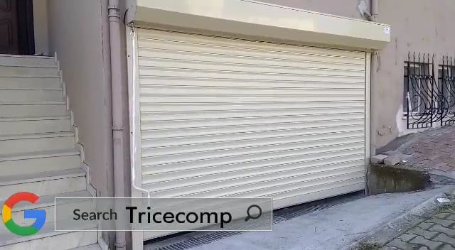 Roll Up Doors Are Manufactured From Slats Of Formed Crca Galvanized Steel Aluminum Or Stainless Steel That Roll Up To St Shutter Doors Shutters Roll Up Doors