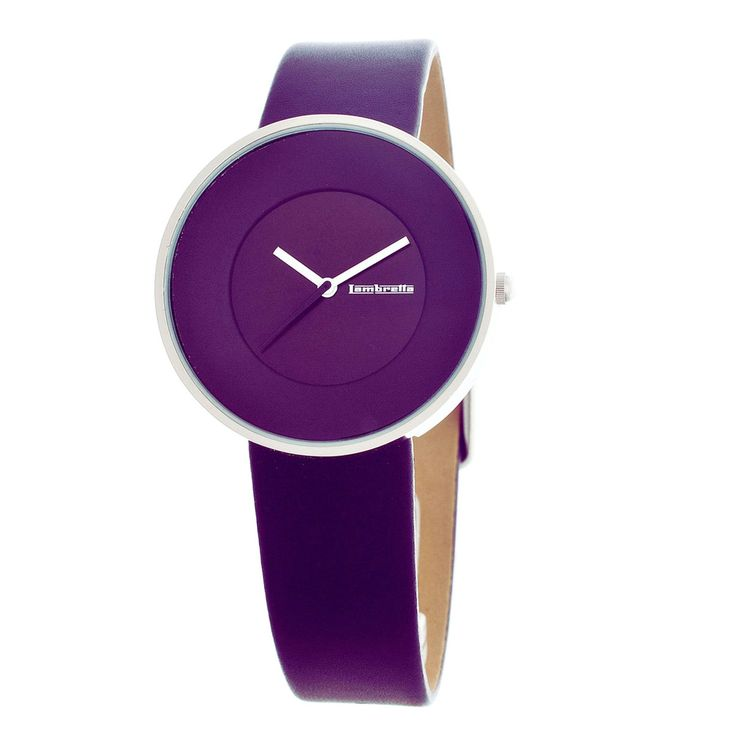 Cielo Analog Watch Purple by Lambretta (I don't do leather, but cool watch)
