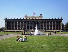 Isla de los Museos. Berlín. Museo Altes.