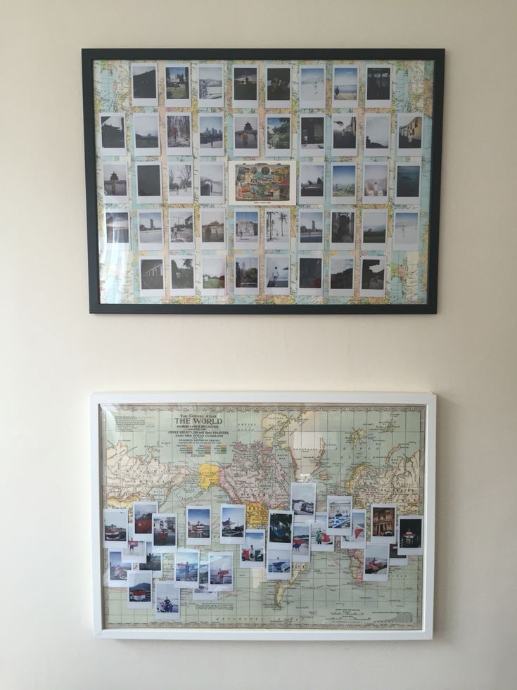 Travelling polaroid display                                                                                                                                                                                 More