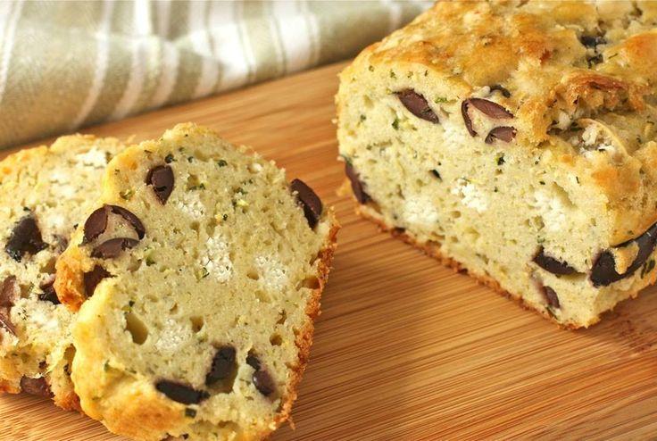 Recette Cake Sal Ef Bf Bd Feta Olive Sans Gluten