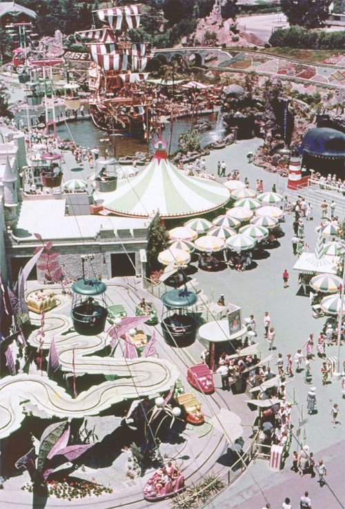 Just look at Alice in Wonderland for a sec...remember how the track used to not be blocked off?