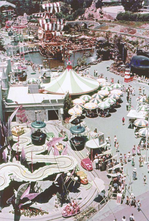 vintage Fantasyland Disneyland CA