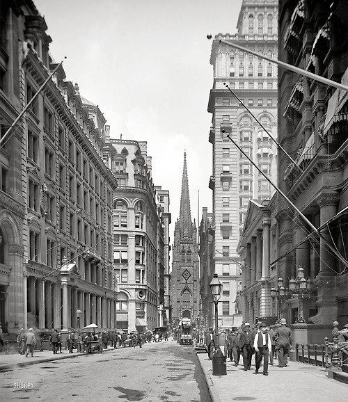 Lower Manhattan, 1903, vintage nyc, (nypubliclibrary)