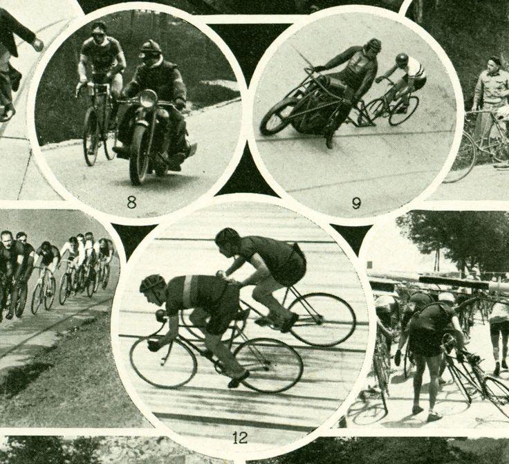 1948 Cyclisme. Vélo. Vélodrome. Tour de France. Illustration vintage. Planche Originale Larousse.  Déco Rétro de la boutique sofrenchvintage sur Etsy