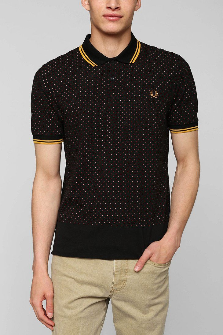 This guys is really skinny (as are all the Fred Perry models), but these are the best fitting polos you can find...they are not for frumpy people