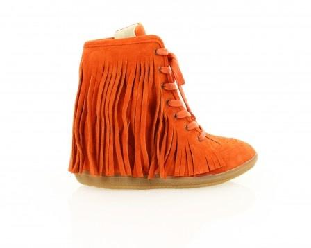 Pocahontas wedge sneaker