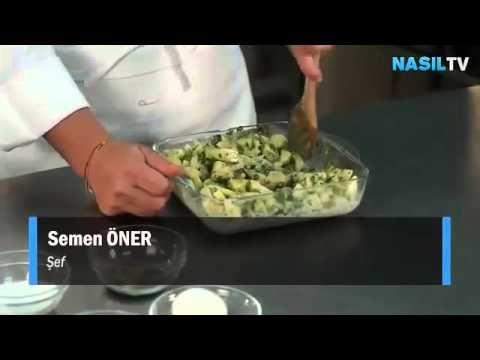 Milföy hamurundan patatesli börek nasıl yapılır NasılTV - YouTube