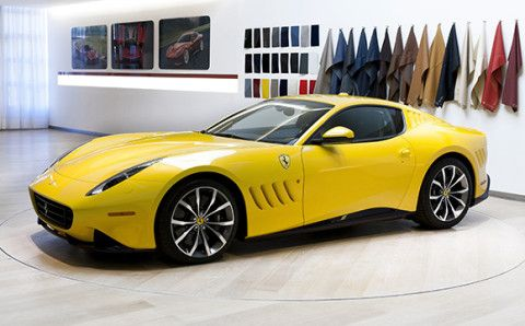 Designed under the direction of Ferrari's Styling Centre with the collaboration of Pininfarina, the latest Ferrari one-off model, the SP 275 rw competizione