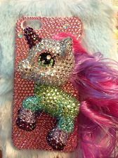 3D My Little Pony Friendship Rhinestone Handmade Pink Case Cover for iPhone 5